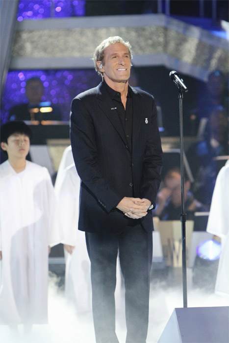 Michael Bolton performs on 'Dancing With the...