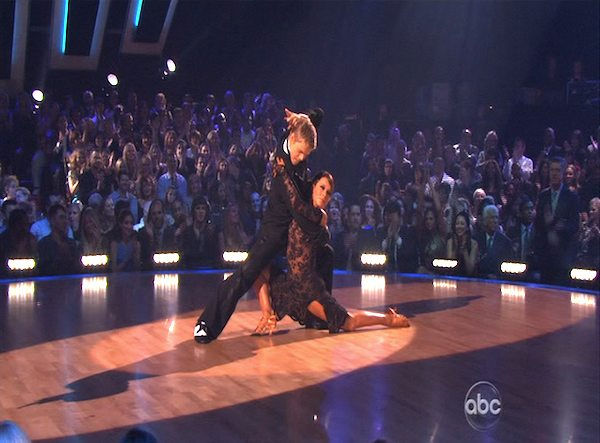 "<div class=""meta image-caption""><div class=""origin-logo origin-image ""><span></span></div><span class=""caption-text"">Jennifer Grey and Derek Hough perform on 'Dancing With the Stars,' Monday, Oct. 11, 2010. The judges gave the couple 56 points out of 60. (KABC Photo)</span></div>"