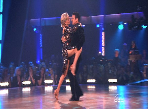 "<div class=""meta image-caption""><div class=""origin-logo origin-image ""><span></span></div><span class=""caption-text"">Florence Henderson and Corky Ballas perform on 'Dancing With the Stars,' Monday, Oct. 11, 2010. The judges gave the couple 35 points out of 60. (KABC Photo)</span></div>"