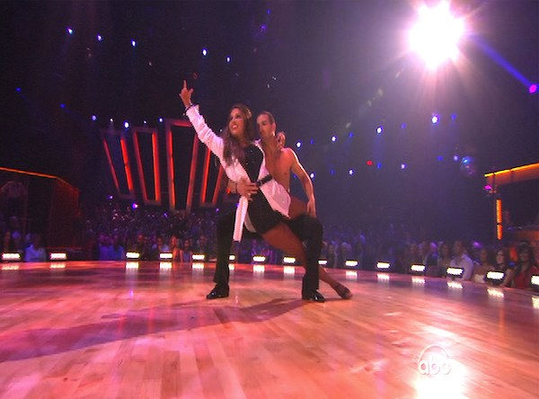 "<div class=""meta image-caption""><div class=""origin-logo origin-image ""><span></span></div><span class=""caption-text"">Bristol Palin and Mark Ballas perform on 'Dancing With the Stars,' Monday, Oct. 11, 2010. The judges gave the couple 32 points out of 60. (KABC Photo)</span></div>"