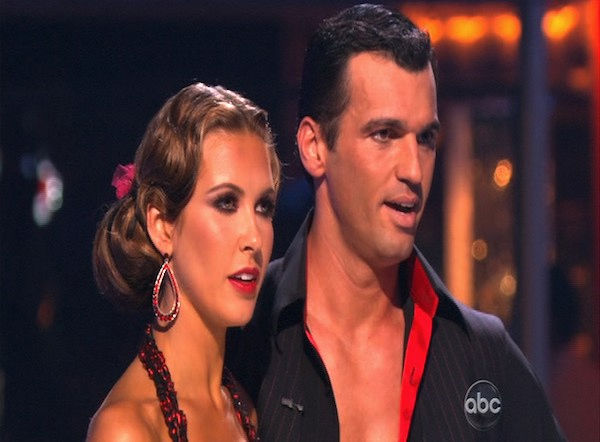 "<div class=""meta ""><span class=""caption-text "">Audrina Patridge and Tony Dovolani perform on 'Dancing With the Stars,' Monday, Oct. 11, 2010. The judges gave the couple 46 points out of 60. (KABC Photo)</span></div>"