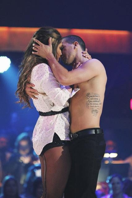 "<div class=""meta ""><span class=""caption-text "">Bristol Palin and Mark Ballas perform on 'Dancing With the Stars,' Monday, Oct. 11, 2010. The judges gave the couple 32 points out of 60. (ABC/Adam Larkey)</span></div>"