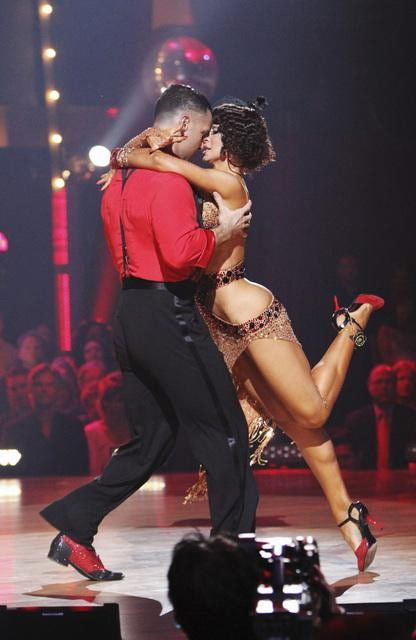 "<div class=""meta image-caption""><div class=""origin-logo origin-image ""><span></span></div><span class=""caption-text"">Mike 'The Situation' Sorrentino and Karina Smirnoff perform on 'Dancing With the Stars,' Monday, Oct. 11, 2010. The judges gave the couple 28 points out of 60. (ABC/Adam Larkey)</span></div>"
