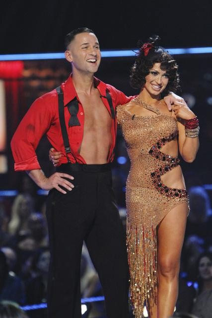 "<div class=""meta image-caption""><div class=""origin-logo origin-image ""><span></span></div><span class=""caption-text"">Mike 'The Situation' Sorrentino and Karina Smirnoff perform on 'Dancing With the Stars,' Monday, Oct. 11, 2010. The judges gave the couple 28 points out of 60. (KABC Photo)</span></div>"