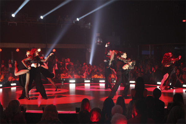 The Macy's Stars of Dance perform on 'Dancing With the Stars: The Results Show,' Tuesday, Oct. 12, 2010.