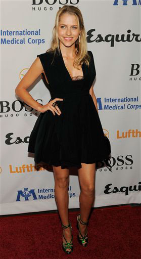 Teresa Palmer arrives at the Esquire House LA Opening Night Event and International Medical Corps Benefit in Beverly Hills, Calif., Friday, Oct. 15, 2010. <span class=meta>(AP Photo&#47;Chris Pizzello)</span>