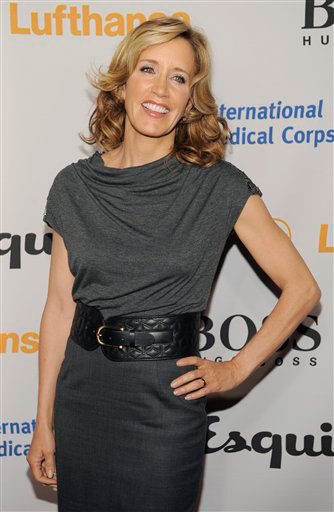 Felicity Huffman arrives at the Esquire House LA Opening Night Event and International Medical Corps Benefit in Beverly Hills, Calif., Friday, Oct. 15, 2010.