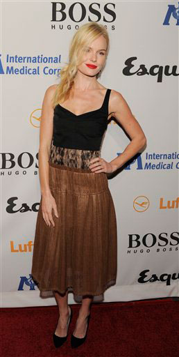 "<div class=""meta image-caption""><div class=""origin-logo origin-image ""><span></span></div><span class=""caption-text"">Kate Bosworth arrives at the Esquire House LA Opening Night Event and International Medical Corps Benefit in Beverly Hills, Calif., Friday, Oct. 15, 2010.  (AP Photo/Chris Pizzello)</span></div>"