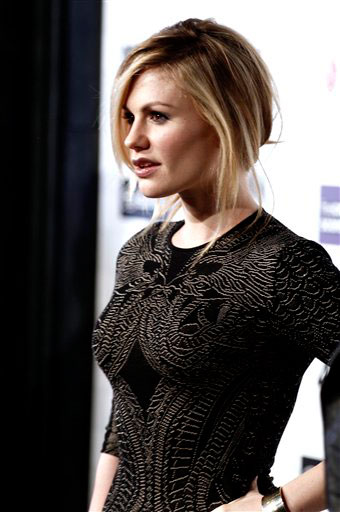 Anna Paquin arrives at the Scream Awards on...