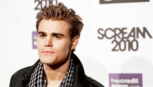 Paul Wesley arrives at the Scream Awards on...