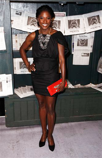 Rutina Wesley arrives at the Scream Awards on Saturday Oct. 16, 2010, in Los Angeles.
