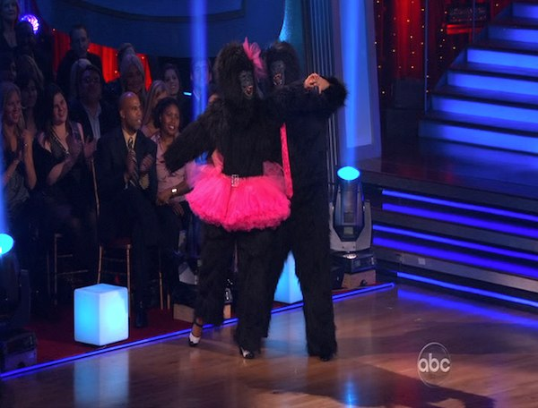 Bristol Palin and Mark Ballas perform to the &#39;Monkees&#39; theme on &#39;Dancing With the Stars,&#39; Monday, Oct. 18, 2010. The judges gave the couple 18 points out of 30. <span class=meta>(KABC Photo)</span>