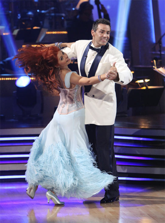 "<div class=""meta ""><span class=""caption-text "">Kurt Warner and Anna Trebunskaya perform to the 'Bewitched' theme on 'Dancing With the Stars,' Monday, Oct. 18, 2010. The judges gave the couple 24 points out of 30. (ABC Photo/Adam Larkey)</span></div>"