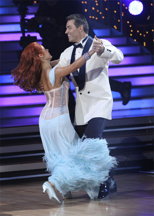 Kurt Warner and Anna Trebunskaya perform to the 'Bewitched' theme on 'Dancing With the Stars,' Monday, Oct. 18, 2010. The judges gave the couple 24 points out of 30.