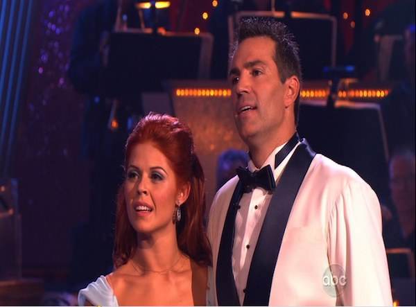 Kurt Warner and Anna Trebunskaya perform to the &#39;Bewitched&#39; theme on &#39;Dancing With the Stars,&#39; Monday, Oct. 18, 2010. The judges gave the couple 24 points out of 30. <span class=meta>(KABC Photo)</span>