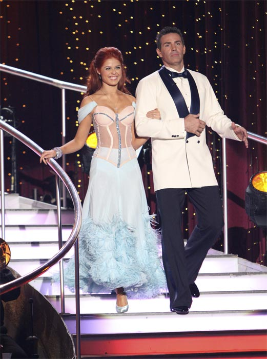 "<div class=""meta image-caption""><div class=""origin-logo origin-image ""><span></span></div><span class=""caption-text"">Kurt Warner and Anna Trebunskaya perform to the 'Bewitched' theme on 'Dancing With the Stars,' Monday, Oct. 18, 2010. The judges gave the couple 24 points out of 30. (ABC Photo/Adam Larkey)</span></div>"