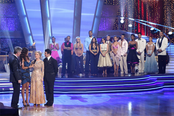 "<div class=""meta image-caption""><div class=""origin-logo origin-image ""><span></span></div><span class=""caption-text"">Florence Henderson and Corky Ballas, with hosts Tom Bergeron and Brooke Burke, react to being eliminated on 'Dancing With the Stars: The Results Show,' Tuesday, Oct. 19, 2010. (ABC Photo/Adam Larkey)</span></div>"