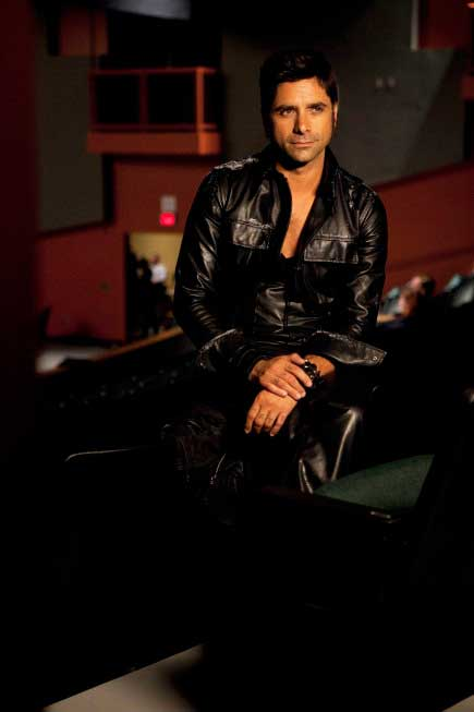 John Stamos as Eddie in the 'Rocky Horror'...