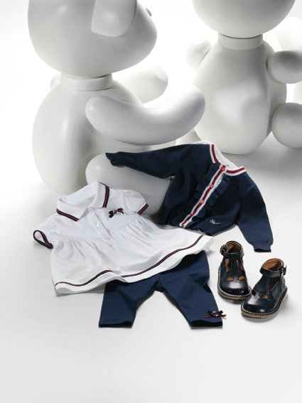 Gucci apparel from the company&#39;s Spring&#47;Summer 2011 children&#39;s line. <span class=meta>(Gucci &#47; facebook.com&#47;GUCCI)</span>