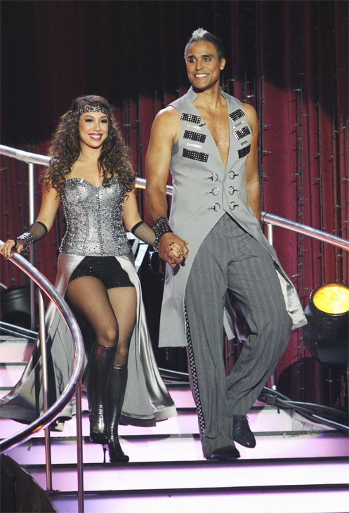 Rick Fox and Cheryl Burke on &#39;Dancing With the Stars,&#39; Monday, Oct. 25, 2010.  <span class=meta>(ABC Photo&#47;Adam Larkey)</span>
