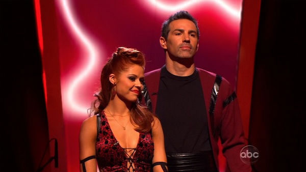 "<div class=""meta ""><span class=""caption-text "">Kurt Warner and Anna Trebunskaya wait to hear their fate on 'Dancing With the Stars: The Results Show,' Tuesday, Oct. 26, 2010. The judges gave the couple 18 out of 30 for individual and 4 points for the dance marathon for a total of 22. (KABC Photo)</span></div>"