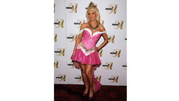 Holly Madison dresses as Sleeping Beauty for...