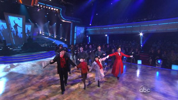 Macy&#39;s Stars of Dance featured a performance by the cast of the Broadway hit, &#39;Mary Poppins&#39; on &#39;Dancing With the Stars: The Results Show,&#39; Tuesday, Nov. 2, 2010. <span class=meta>(KABC Photo)</span>
