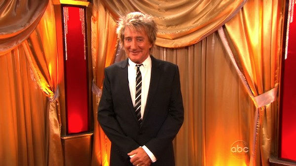 Rod Stewart performed on 'Dancing With the...