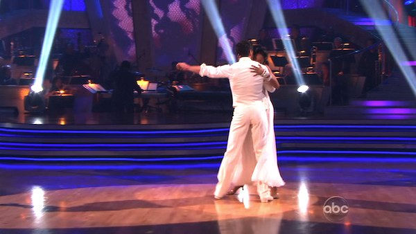 "<div class=""meta image-caption""><div class=""origin-logo origin-image ""><span></span></div><span class=""caption-text"">Brandy and Maksim Chmerkovskiy perform on 'Dancing With the Stars,' Monday, Nov. 8, 2010. The judges gave the couple 29 out of 30 for their waltz and 28 points out of 30 for their 'instant dance.' The couple earned a total of 57 out of 60.  (KABC Photo)</span></div>"