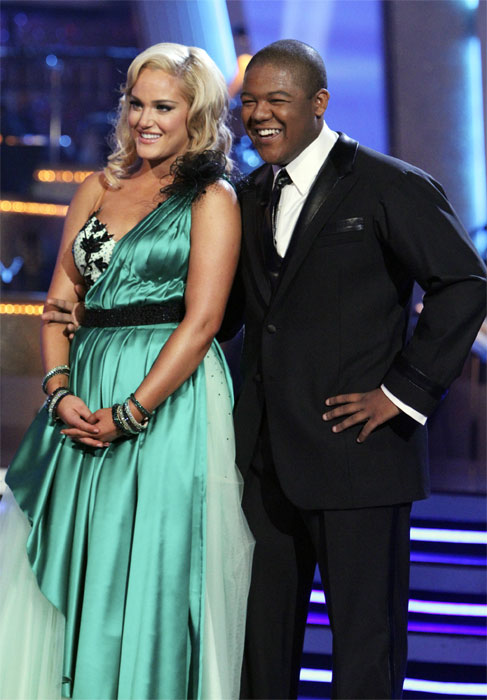 "<div class=""meta image-caption""><div class=""origin-logo origin-image ""><span></span></div><span class=""caption-text"">Kyle Massey and Lacey Schwimmer perform on 'Dancing With the Stars,' Monday, Nov. 8, 2010. The judges gave the couple 27 out of 30 for their Viennese waltz and 27 points out of 30 for their 'instant dance.' The couple earned a total of 56 out of 60.  (ABC Photo/Adam Larkey)</span></div>"