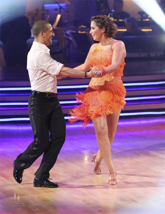 "<div class=""meta ""><span class=""caption-text "">Bristol Palin and Mark Ballas perform on 'Dancing With the Stars,' Monday, Nov. 8, 2010. The judges gave the couple 24 out of 30 for their Argentine tango and 23 points out of 30 for their 'instant dance.' The couple earned a total of 48 out of 60.  (ABC Photo/Adam Larkey)</span></div>"