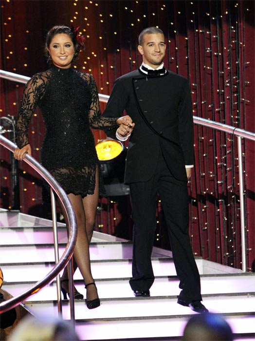 "<div class=""meta ""><span class=""caption-text "">Bristol Palin and Mark Ballas on 'Dancing With the Stars,' Monday, Nov. 8, 2010. (ABC Photo/Adam Larkey)</span></div>"