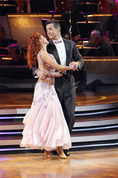 "<div class=""meta ""><span class=""caption-text "">Kurt Warner and Anna Trebunskaya perform on 'Dancing With the Stars,' Monday, Nov. 8, 2010. The judges gave the couple 24 out of 30 for their waltz and 24 points out of 30 for their 'instant dance.' The couple earned a total of 48 out of 60.  (ABC Photo/Adam Larkey)</span></div>"