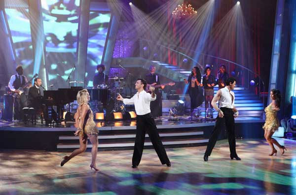John Legend and The Roots performed on 'Dancing With the Stars: The Results Show,' Tuesday, Nov. 9, 2010.