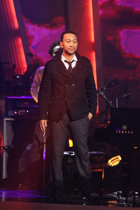 John Legend and The Roots performed on &#39;Dancing With the Stars: The Results Show,&#39; Tuesday, Nov. 9, 2010. <span class=meta>(ABC Photo&#47; Adam Larkey)</span>