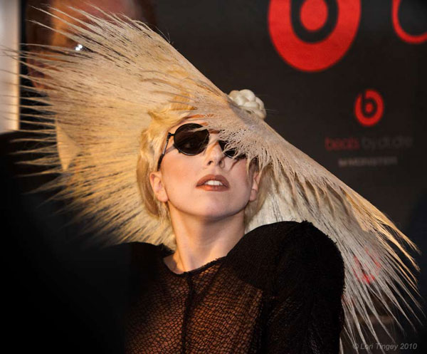 In 2010, Lady Gaga was ranked as the second most powerful musician in the world. <span class=meta>(Photo courtesy of flickr.com&#47;photos&#47;loritingey)</span>