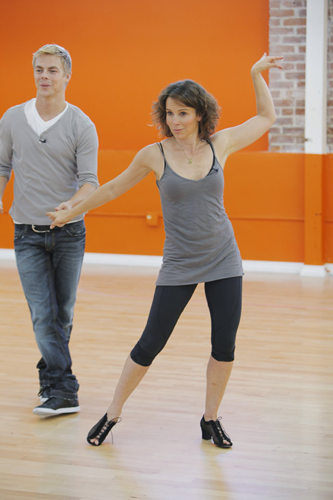 Jennifer Grey joins two-time mirror ball champion Derek Hough for his seventh season. The season 11 star-studded cast and their professional partners get ready to break in their dancing shoes on ABC' 'Dancing With the Stars' for the long awaited two-hour season premiere