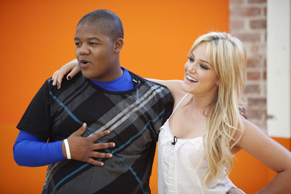 "<div class=""meta image-caption""><div class=""origin-logo origin-image ""><span></span></div><span class=""caption-text"">Kyle Orlando Massey partners up with Lacey Schwimmer, who is back for her third season. The season 11 star-studded cast and their professional partners get ready to break in their dancing shoes on ABC' 'Dancing With the Stars' for the long awaited two-hour season premiere, Monday, September 20. (ABC/Greg Zabilski)</span></div>"