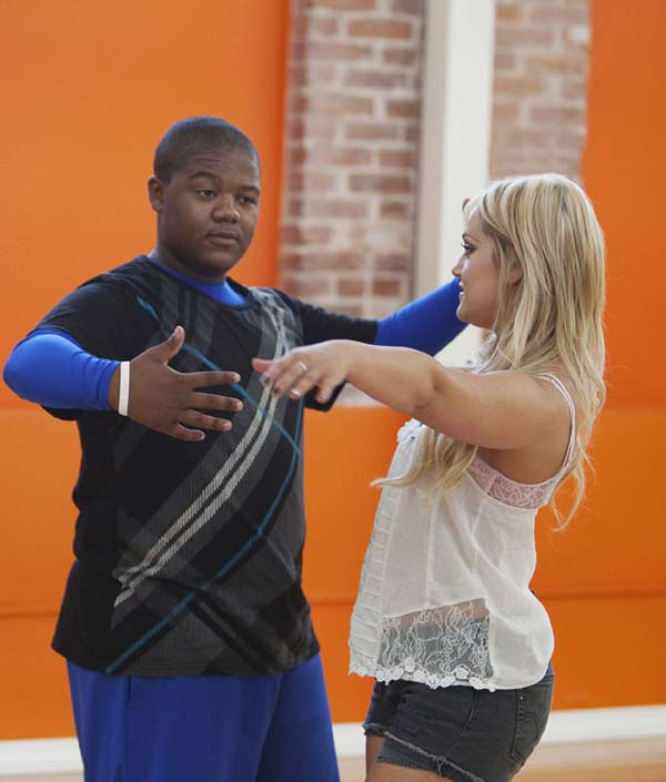 "<div class=""meta ""><span class=""caption-text "">Kyle Orlando Massey partners up with Lacey Schwimmer, who is back for her third season. The season 11 star-studded cast and their professional partners get ready to break in their dancing shoes on ABC' 'Dancing With the Stars' for the long awaited two-hour season premiere, Monday, September 20. (ABC/Greg Zabilski)</span></div>"