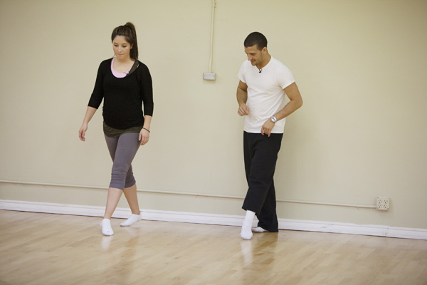 Bristol Palin rehearses with two-time champ Mark Ballas, who is returning for his seventh season.