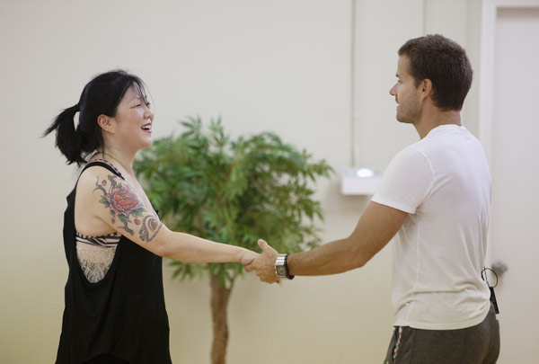 "<div class=""meta image-caption""><div class=""origin-logo origin-image ""><span></span></div><span class=""caption-text"">Margaret Cho partners with Louis van Amstel, who returns for his seventh season. The season 11 star-studded cast and their professional partners get ready to break in their dancing shoes on ABC' 'Dancing With the Stars' for the long awaited two-hour season premiere, Monday, September 20. (ABC/Greg Zabilski)</span></div>"