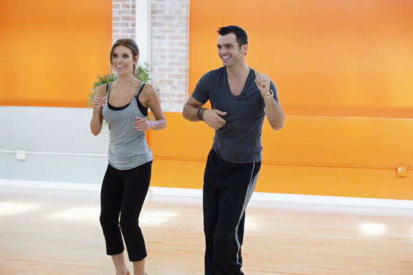 Audrina Patridge joins Tony Dovolani, who is...