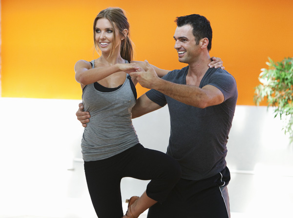 Audrina Patridge joins Tony Dovolani, who is back for his tenth season.