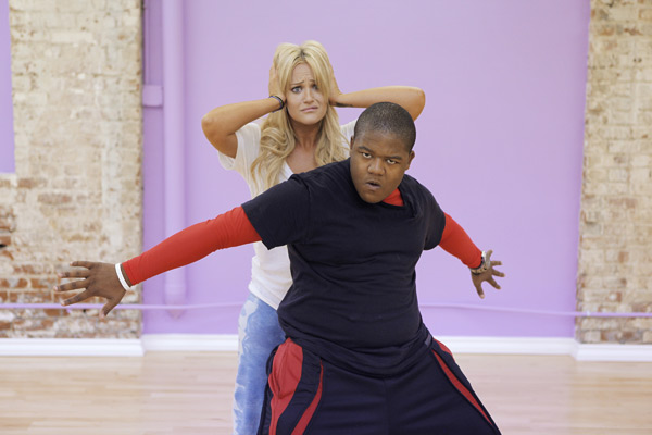 Kyle Orlando Massey partners up with Lacey Schwimmer, who is back for her third season. The season 11 star-studded cast and their professional partners get ready to break in their dancing shoes on ABC&#39; &#39;Dancing With the Stars&#39; for the long awaited two-hour season premiere, Monday, September 20. <span class=meta>(ABC&#47;Greg Zabilski)</span>