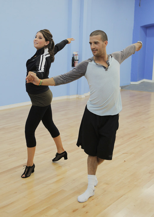 Bristol Palin rehearses with two-time champ Mark...