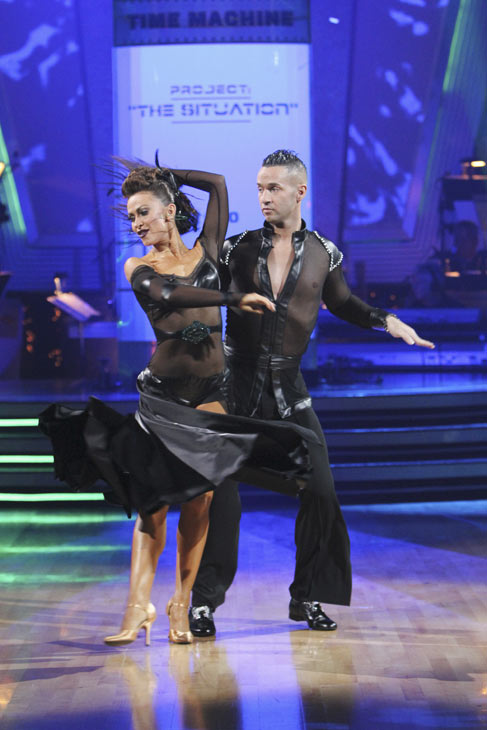 "<div class=""meta ""><span class=""caption-text "">Mike 'The Situation' Sorrentino and Karina Smirnoff perform on 'Dancing With the Stars,' Monday, Oct. 4, 2010. The judges gave the couple 20 points out of 30. (ABC Photo/ Adam Larkey)</span></div>"