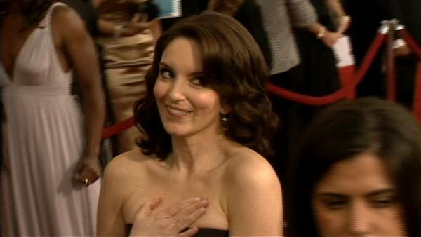 Stars walk the red carpet at SAG Awards in LA, Jan. 25, 2009