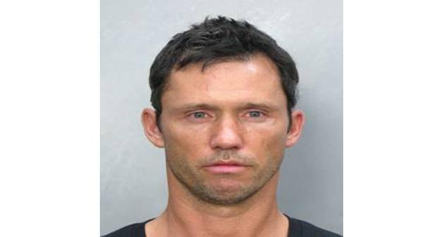 Actor Jeffrey Donovan is seen in this booking photograph released by the Miami Beach Police Department. Donovan was charged with DUI on Sunday July 12, 2009.