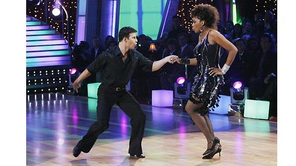 Female contestants on 'Dancing With the Stars,' Sept. 22, 2009