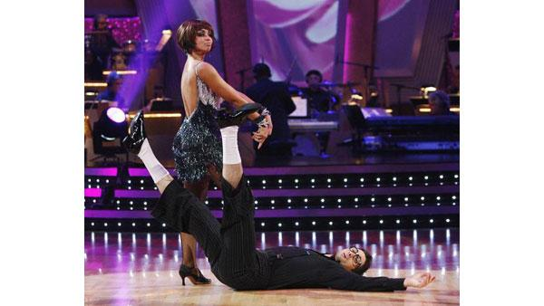 Mya and Dmitry Chaplin on 'Dancing With the Stars: The Results Show', Sept. 29, 2009